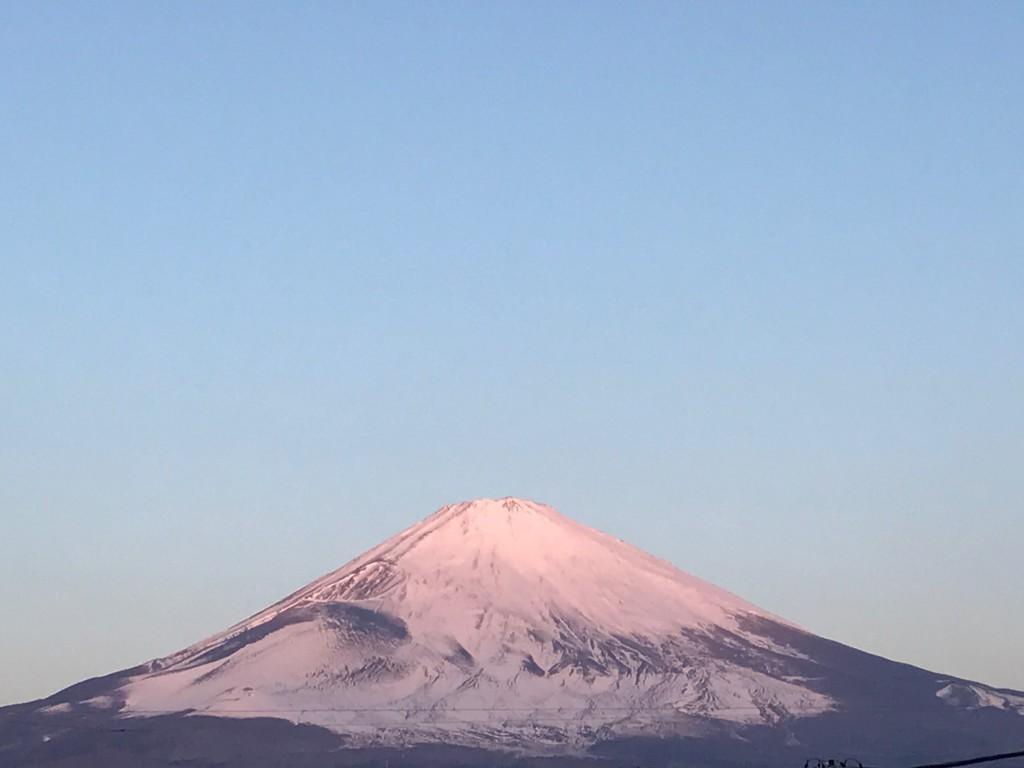 ごごまるの、今朝の富士山♫