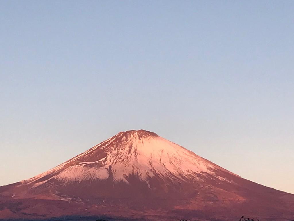 ごごまるの、今朝の富士山♪